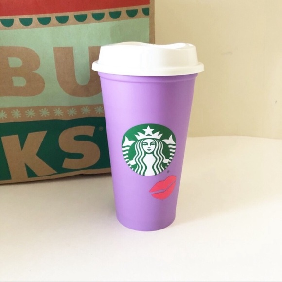 Starbucks Valentine's Day Color Changing Hot Cup